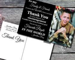 thank you graduation cards rustic graduation thank you card thank you graduation card