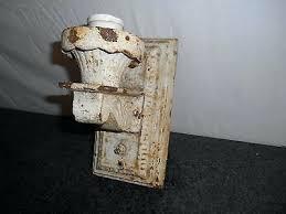 Porch Sconce Sconce Matched Pair Antique Cast Iron Porch Sconce Wall Light