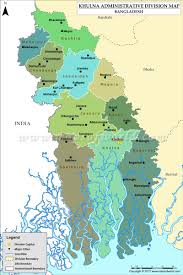 Us Time Zone Map Pdf by Khulna Map Districts In Khulna Division Of Bangladesh