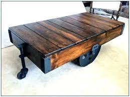 railroad cart coffee table railroad coffee table cart loremipsum club