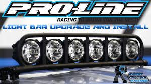 Light Rack Rc Patrol Pro Line Racing Light Bar Install On Desert Raid Body