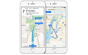 apple maps move over google maps apple claims its app is three times as
