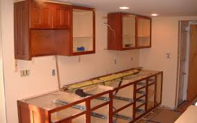 How To Hang Kitchen Cabinet Doors Cabinet Intriguing How To Install New Cabinets Astonishing How