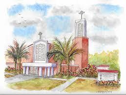 san antonio mission painting st anthony of padua catholic chuch manteca california