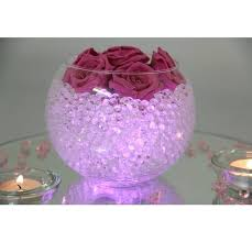 fish bowl centerpieces fish bowl decor purple wedding centerpieces search vase