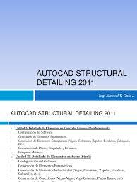 240337848 clase autocad structural detailing 2011 01 pdf