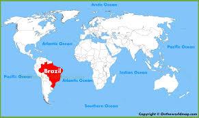 Cool Brazil Flag Brazil Location On The World Map And Cool Sao Paulo Sao Paulo