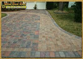 concrete paver driveways design install minnesota