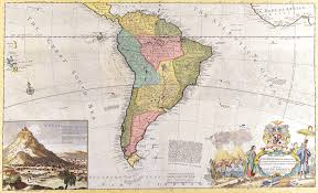 World Map Antique by Antique Maps Of The Worldmap Of South Americamermann Mollc1715