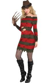 holloween costumes miss krueger costume a nightmare on elm party city