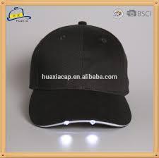 led light cap baseball caps with led lights baseball cap with
