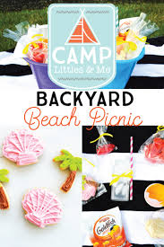 backyard beach picnic by celebrate and detail on the littles and me