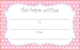 10 printable coupon template survey template words