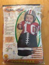 Halloween Costumes Football Player Boy Football Bunting Newborn Baby Sports Fan Infant Halloween Costume