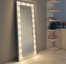 full length lighted wall mirrors hollywood mirrors hollywood mirror with lights makeup vanity
