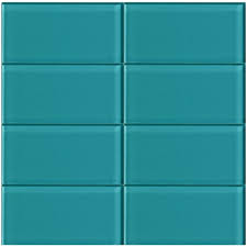 subway tile images blue blue turquoise subway tile in peacock modwalls lush ii 3x6