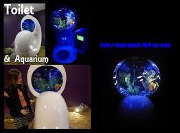 aquarium design toilet suspended modern crazy video