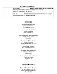 Football Resume Resume Coach B Duds Blog