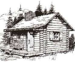 log cabin drawings standout log cabin plans escape to an earlier gentler time