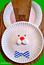 easter bunny paper plate craft for kids ducks u0027n a row