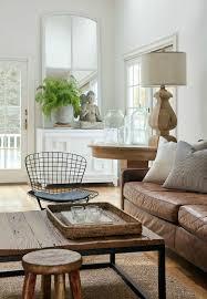grey living room brown leather sofa gopelling net