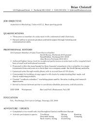 samples of marketing resumes marketing resume template