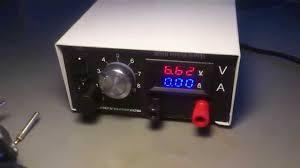 diy bench power supply youtube