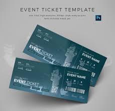 13 event ticket templates free u0026 premium templates