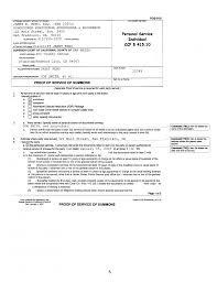 civil summons form professional business profile template