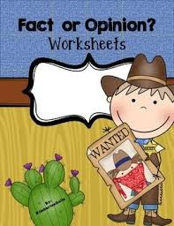 all worksheets fact and opinion comprehension worksheets free