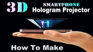 Hologramm Le How To Smartphone 3d Hologram Projector Easy