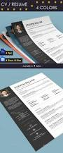 Best Resume Colors by 20 Awesome Premium Psd Resume Cv Templates