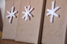 borax snowflakes a and a boy