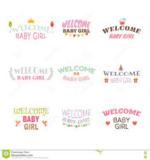 welcome baby baby arrival postcards baby shower card