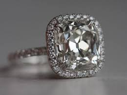 5 carat engagement ring of the week 5 carat cushion cut diamond ring pricescope