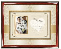 wedding gift photo frame personalized wedding gift for and in frame