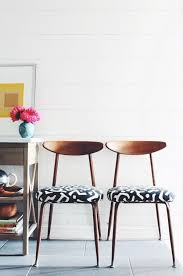 Printed Dining Chairs Best 25 Midcentury Upholstery Fabric Ideas On Pinterest Mid