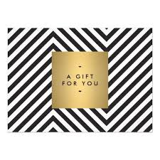 retro black and white pattern gold name gift cert clip art library