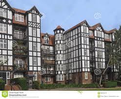 tudor style tudor style apartment building stock photo image 82853278