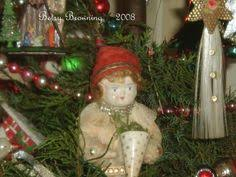 cotton strawberries ornament by betsy browning designs my