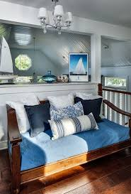 Pottery Barn Daybed Pottery Barn Daybed Bedroom Beach With Blue Dark Stained Wood