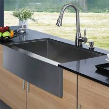 stainless steel apron sink vg15003 vigo vg15003 apron front stainless steel kitchen sink