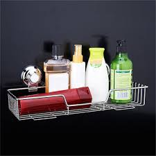 Bathroom Shower Shelves Stainless Steel by Stainless Steel Kitchen Bathroom Shower Storage Basket Caddy Shelf
