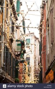 christmas decorations in alley in stock photos u0026 christmas