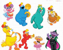 clipart sesame street characters clipart collection vintage