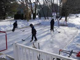 How To Make A Ice Rink In Your Backyard Claypool Ice Rink