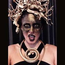 Medusa Halloween Costumes Diy Medusa Costume Dollar Store Snakes Gold Spray Paint