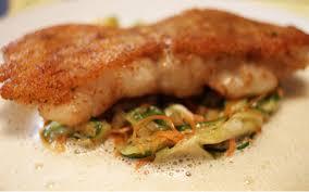 cuisiner le lieu jaune recette de chef le lieu jaune en croûte d herbe selon françois