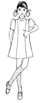desain baju gaun anak menggambar pola baju anak sesuai desain danitailor