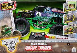 images of grave digger monster truck new bright monster jam 1 10 scale remote control vehicle grave
